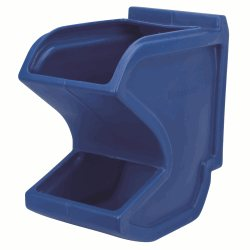 Easy Flow Gravity Hopper 18 x 10-3/4 x 19-1/2, Blue (31625BLUE)