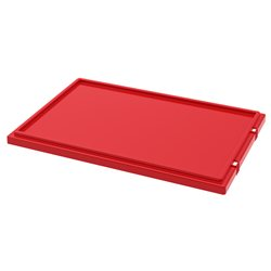 Lid for Nest & Stack Totes 35300, Red (35301RED)
