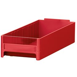 19-Series Cabinet Drawer 4 x 2-1/16 x 10-9/16, Red