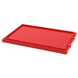 Lid for Nest & Stack Totes 35240, Red (35241RED)