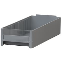 19-Series Cabinet Drawer 4 x 2-1/16 x 10-9/16, Gray