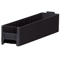 19-Series Cabinet Drawer 2-3/16 x 2-1/16 x 10-9/16, Black