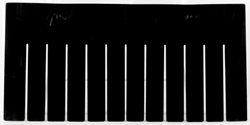 Long Divider for Akro-Grid 33168, 6 Pack, Black (42168)