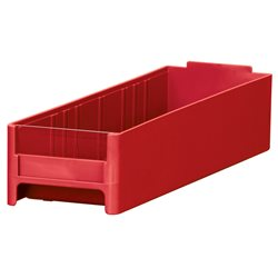 19-Series Cabinet Drawer 3-3/16 x 2-1/16 x 10-9/16, Red