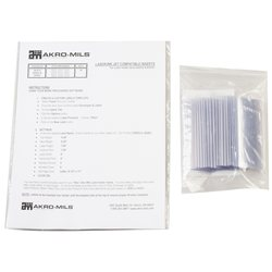 Card Stock Holder for AkroBins/AkroBins 1800 Series, 25 Pack, Clear (29302)