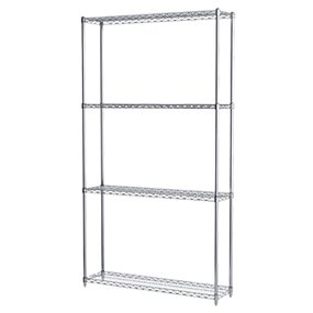 Akro-Mils Wire Shelving Units | Chrome Wire Shelving | Storage Shelves